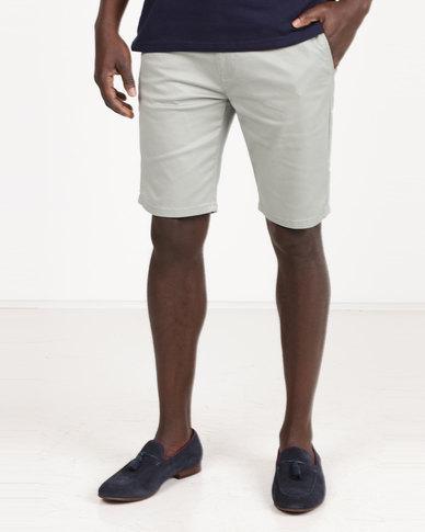 Polo Milano Stretch Chino Shorts Mint
