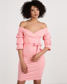 SassyChic Chloe Dress Pink