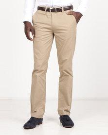 Polo Men's Regular Leg Chinos Khaki