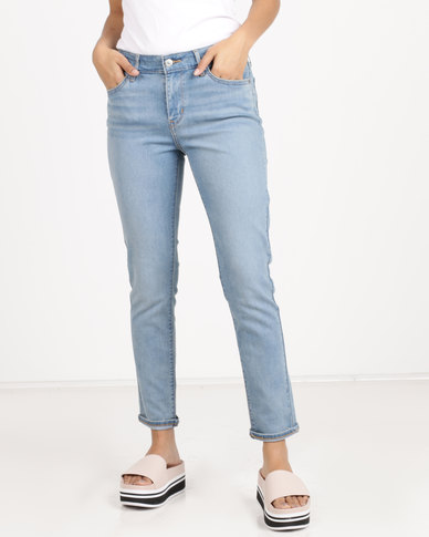 Levi's ® 711 Skinny Ankle Jeans Play By Play Blue