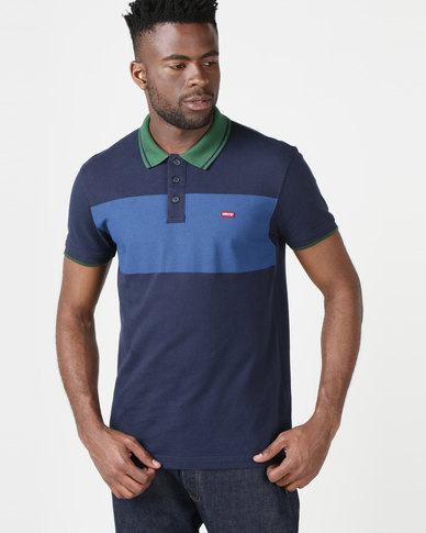 Levi's ® Housemark Polo Shirt Colourblock Multi
