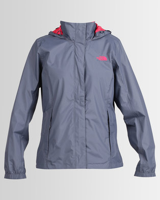 The North Face Resolve 2 Jacket Grey/Pink