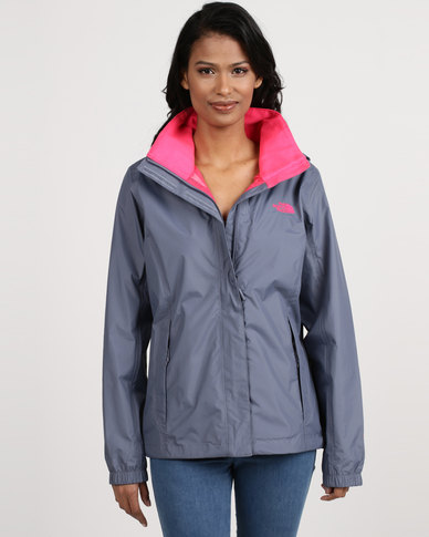 98172ccb9d32 The North Face Resolve 2 Jacket Grey Pink