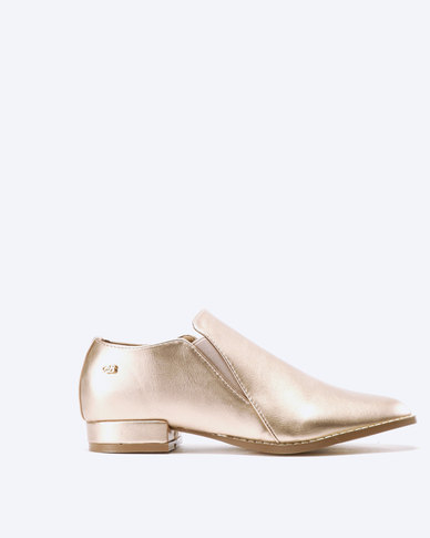 Miss Black Attigone Man Shoes Rose Gold