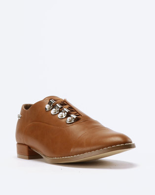 f981ca5577c Miss Black Maha Lace Up Shoes .
