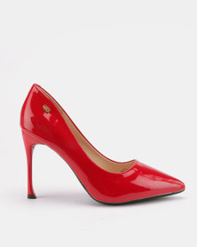Cannor Heeled Courts Red