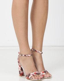Dela Heeled Sandal Pink