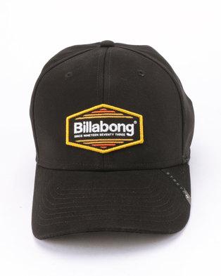 best cheap 4914a 04bca Billabong Walled Stretch Cap Black