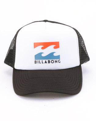 7be33efda0b Billabong Podium Trucker Cap Black Pop