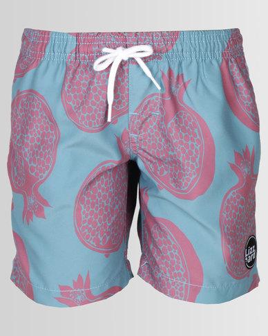 Lizzard Boys Fruitster Shorts Pomegranate