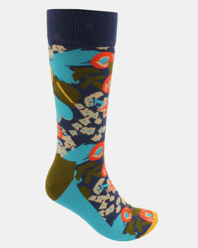 Happy Socks Wiz Khalifa Top Floor Sock Multi