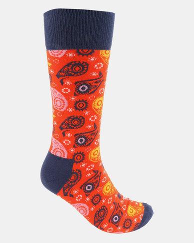 Happy Socks  Wiz Khalifa House In The Hills Sock Multi