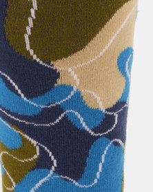 Happy Socks Wiz Khalifa Raw Sock Multi