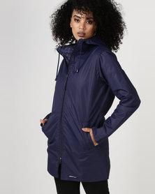 Forecast Raincoats Long Length Raincoat Navy