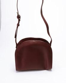Klines Simple Crossbody Bag Maroon