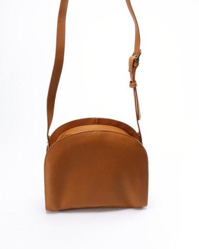 Klines Simple CropssBody Bag Tan
