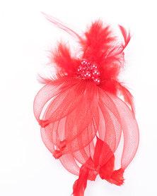 Klines Fiery Fascinator Red