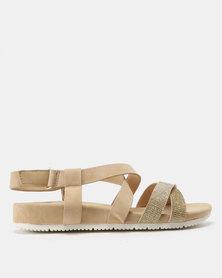Butterfly Feet Kiro Sandals Nude