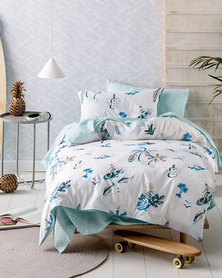 Linen House Surfari Duvet Cover Set Blue