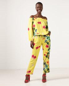 Slick Chloe-Printed Jumpsuit Jungle Fever Multi
