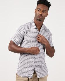 St Goliath Storm Short Sleeve Shirt White