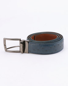 JCrew JD Reverse Belt Navy