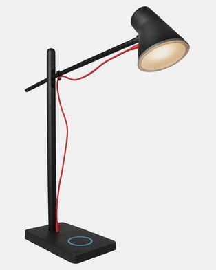 Eurolux USB Empire Desk Lamp Black 5w