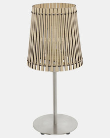 Eurolux Sendero Table Lamp Maple Wood