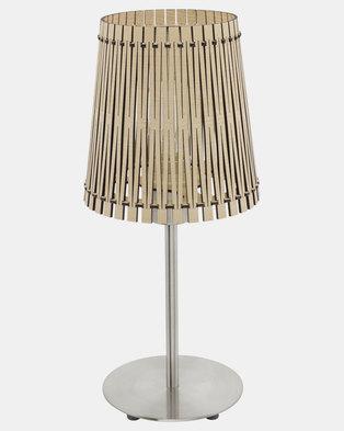 Eurolux Sendero Table Lamp Maple Wood