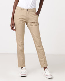 Hi-Tec Bandit Bermuda Ladies Roll Up Chino Khaki