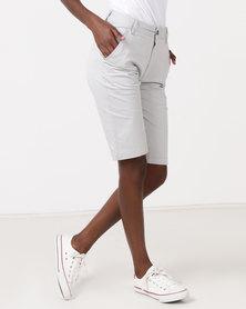 Hi-Tec Bandit Bermuda Ladies Shorts Light Grey