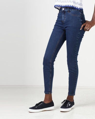 New Look Skinny Jenna Jeans Blue