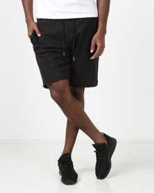 New Look Jersey Shorts Black