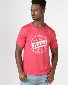 Krag Drag™ - The Strong One™ Zambuk T-Shirt Red