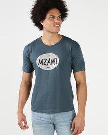 Krag Drag™ - The Strong One™ Mzansi T-Shirt Petrol Blue