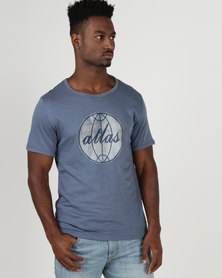 Krag Drag™ - The Strong One™ Atlas T-Shirt Airforce Blue