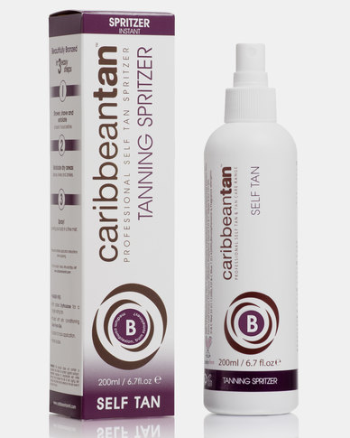Caribbean Tan Tanning Spritzer B Medium Purple