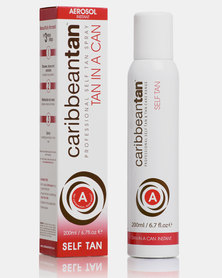 Caribbean Tan Tan In A Can Instant A Light Red