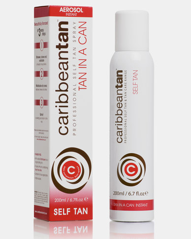 Caribbean Tan Tan In A Can Instant C Darker Red