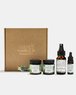 Lulu and Marula Purifying Facial Kit