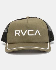 RVCA Title Cap Green