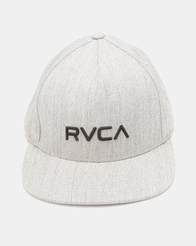f85b021636f3f RVCA Sport Flexfit Cap Heather Grey
