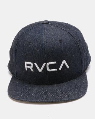 RVCA Twill Snapback II Blue 1a3586da2aa