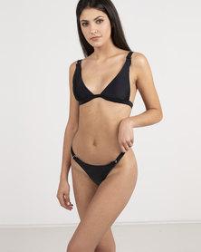 Unseen 50 Shades Bikini Black