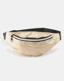 Unseen Glitteratti Bum Bag Gold