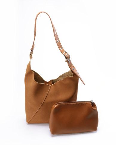 Unseen Bella Tote Bag Brown