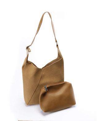 Unseen Bella Tote Bag Tan