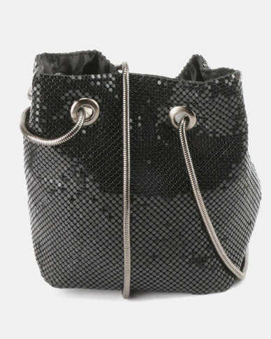Unseen Nancy Cross Body Bag Black