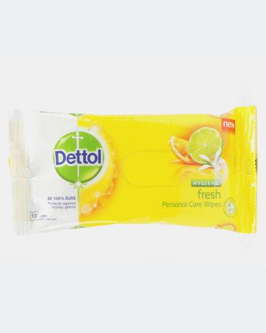 Dettol Hygiene Wipe Fresh-10's