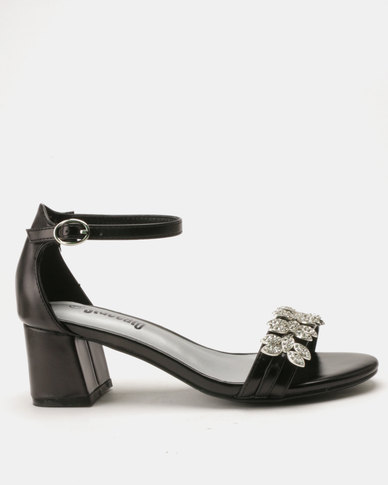 Staccato Evening Sandals Black